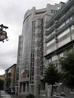 Облицовка Сканроком фасада жилого дома по ул.Ленина г.Днепропетровск