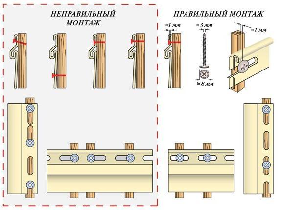 Правила монтажа винилового сайдинга